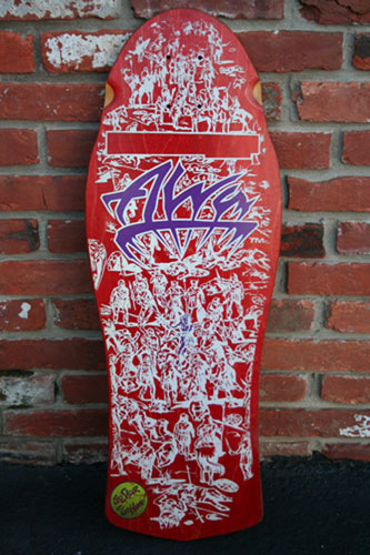 eddie reategui aks old school skateboard collection